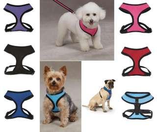 SOFT MESH HARNESS Dog Puppy Pet Comfort Walk Vest New
