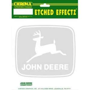 Chroma Graphics,Inc. 70493 John Deere Etched Fx Decal
