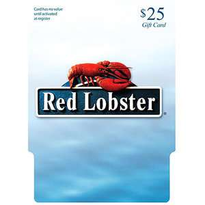 Red Lobster $25 Gift Card Gift Cards