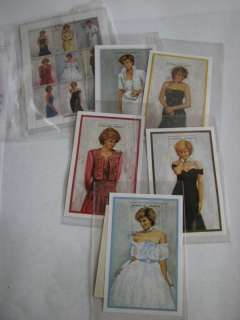 Princess Diana Royal Gowns Stamp Collection+certificate