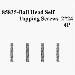 Redcat Racing 85835 Ball head Self Tapping screws 2 24