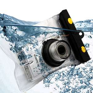 Underwater Housing Waterproof Digital Camera Scuba Case