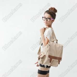 Style Bags Backpack Backpack School Bag Girl Retro Lady Bag Canvas Bag