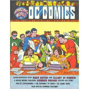 Amazing World Of DC Comics #2 Bob Rozakis and Carl