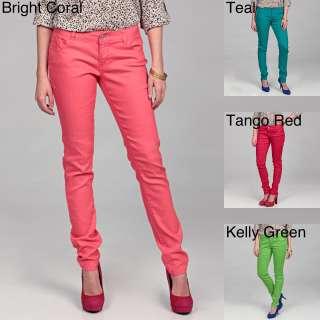 Celebrity Pink Juniors Curvy Stretch Colored Denim Jeans