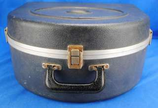 Vintage Ludwig Blue & Olive Green Badge Logo Snare Drum Hard Case