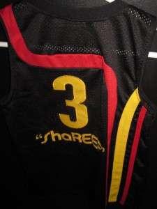 AUTHENTIC NIKE SEWN EC #3 SHAREEF ATLANTA HAWKS NBA JERSEY SHIRT BOYS
