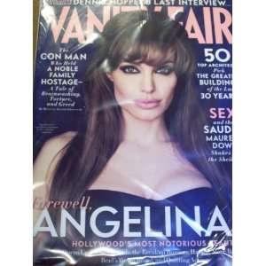 Vanity Fair August 2010 Angelina Jolie Farewell Angelina? Dennis