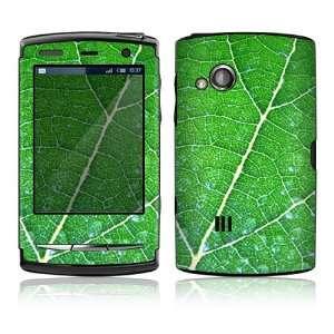 Sony Ericsson Xperia X10 Mini Pro Skin Decal Sticker   Green Leaf