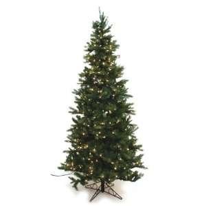 Artificial Prelit Christmas Tree, 7 Feet, Clear Lights