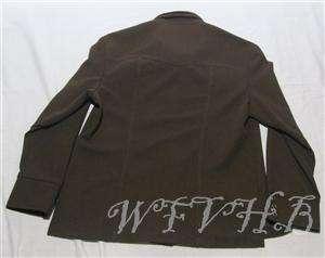 Mens Vintage Lee Suit Sport Blazer Coat Western Jacket Brown 46