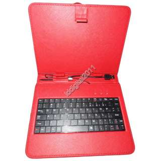 Pink Leather Case of usb Keyboard for 8 inch EPAD APAD SUPERPAD Tablet