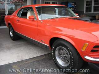 MUSTANG MACH I TEXAS INT. SPEED WAY PACE CAR in Ford   Motors