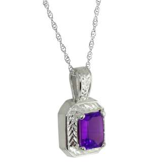 50 Ct Oval Purple Amethyst Sterling Silver Pendant with 18 Silver