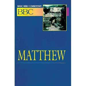Bible Commentary Volume 17 Matthew (Abingdon Basic Bible Commentary