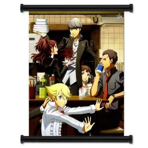 Shin Megami Tensei Persona 4 Game Fabric Wall Scroll Poster (16 x 20