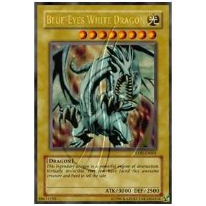 Blue Eyes White Dragon Unlimited LOB 1 Blue Eyes White Dragon (UR