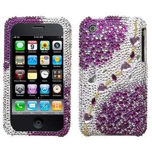 Galaxy Crystal Diamond BLING Hard Case Phone Cover for Apple iPhone