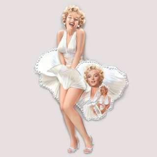 Bradford Marilyn Monroe Shimmering Beauty Wall Plaque