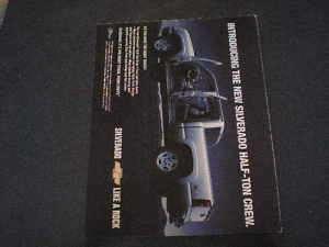 2004 Chevrolet Chevy Silverado Half Ton Crew Pickup Ad