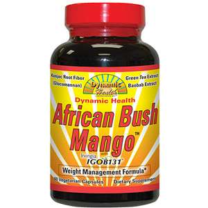 Dynamic Health African Bush Mango Weight Management