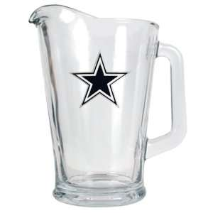 Dallas Cowboys 60oz. NFL Glass Beer Pitcher  Kitchen