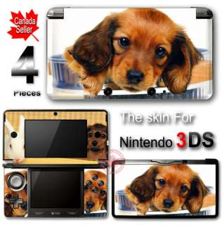 Dog Puppy Gold Cute Pet SKIN VINYL STICKER DECAL COVER #3 for Nintendo