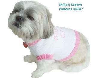 Crochet Patterns For Dog Clothes - Online Crochet Instruction