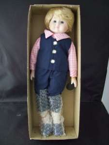 VINTAGE 1988 Brinn Porcelain Collectible Doll JOSHUA