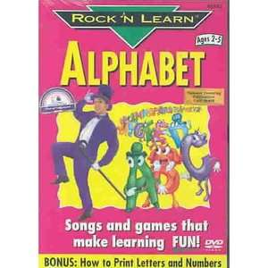 Rock 'N Learn - Alphabet VHS opening - YouTube
