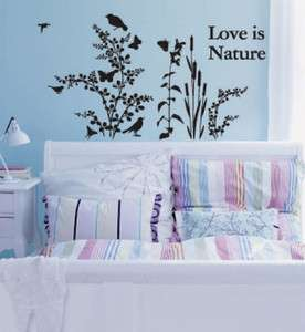 LOVING NATURE Home Decor Art Wall Sticker Vinyl Decals