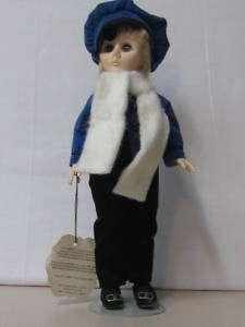 Vintage Effanbee Currier & Ives 1979 Ice Skating Doll