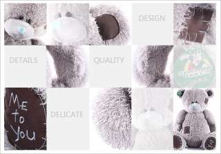 115CM GIANT HUGE BIG SOFT PLUSH PATCH TEDDY BEAR 45