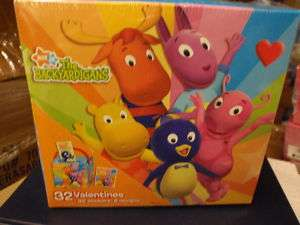32 NEW BACKYARDIGANS VALENTINES CARDS NEW