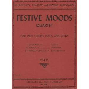 Festive Moods, String Quartet Musical Instruments