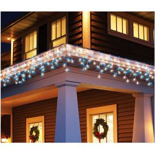 Holiday Time 300 Count Icicle Christmas Light Set, Blue