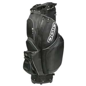 NEW OGIO SYNCRO GOLF CART BAG 14 WAY TOP STEALTH BLACK