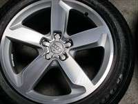 four 09 11 Audi Q5 Factory 19 Wheels Tires Rims OEM 58847 Option CT2