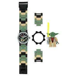 Star Wars Yoda Watch with Mini Figure  LEGO Jewelry Watches Kids