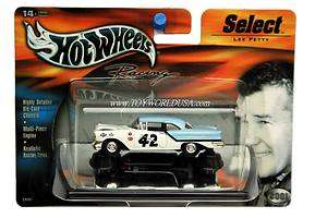 Hot Wheels Racing~SELECT~#42 Lee Petty 57 Oldsmobile