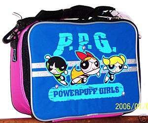 NEW~~ POWERPUFF GIRLS~~ LUNCH BAG /BOX INSULATED