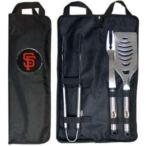 San Francisco Giants Grill BBQ Set w/Bag Sports