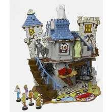 Scooby Doo Haunted House 3D Board Game   Pressman Toy