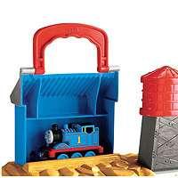 Fisher Price Thomas & Friends Take n Play Set   Rumbling Gold Mine Run