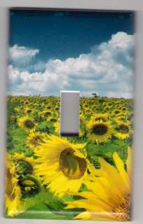 Sunflowers Decorative Light switch Plate cover #4