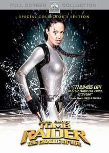 Lara Croft Tomb Raider The Cradle of Life DVD, 2003, Checkpoint