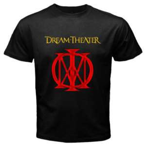 Dream Theater Metal Rock Band Black T Shirt S to 2XL