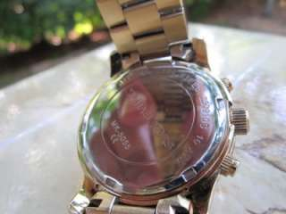 Michael Kors Womens Runway Gold tone Chronograph Watch MK5055 m1