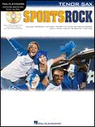 Sports Rock for Tenor Sax Saxophone Sheet Music Book CD