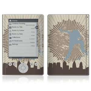 Sony Reader Pocket Edition PRS 300 Vinyl Decal Skin   Explore the City